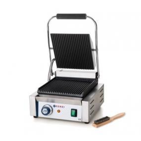 Contact grill - versiune simpla - partea superioara si cea inferioara striate, electric