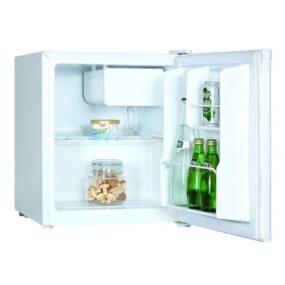 Frigider minibar, clasa A+, volum 46 L, inaltime 51 cm, alb, Haier HMF-406W