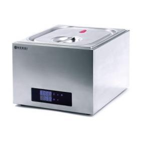 Aparat de gatit Sous-Vide 13lt, GN 2/3, termostat inalta precizie (0,1°C) 45-90°C, 400W, si pentru uz profesional