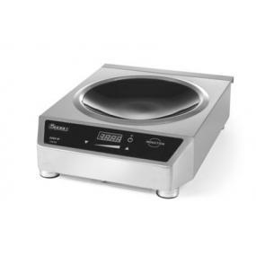 Plita inductie pentru Wok , model 3500W, corp inox, 340x450x(H)120 mm