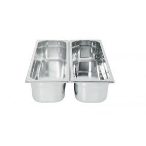 Tava Gastronorm GN 2/4 150 mm 8.6 lt - gama Profi Line, otel inoxidabil