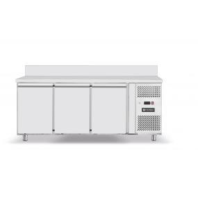 Masa frigorifica rece cu 3 usi, Profi Line, 300W, interval temperatura -2/+8 gr C , 179.5x70x(H)85 cm