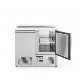 Masa frigorifica rece pentru salate, interval temperatura 2/10 gr C, 250 W, 90x69.8x(H)85 cm