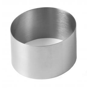 Inel , otel inoxidabil, pentru prajituri 90x(H)50 mm