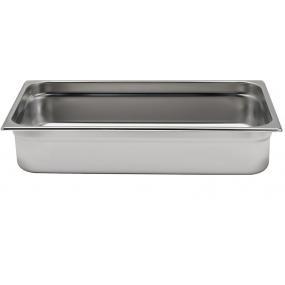 Tava Gastronorm GN 1/2 65 mm 3.6 lt - gama Profi Line, otel inoxidabil