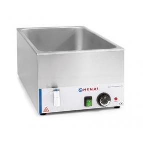 Bain-marie Kitchen Line cu robinet de scurgere GN 1/1 150 mm, 1200 W