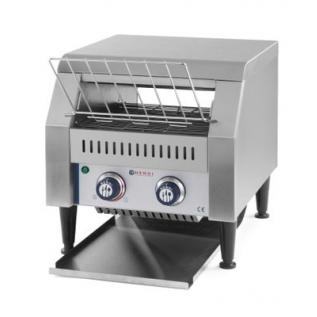Toaster / prajitor paine profesional tip tunel, 2240 W, corp inox, 418x368x(H)387 mm