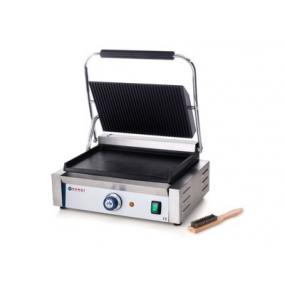 Contact grill - partea superioara striata si cea inferioara neteda, electric