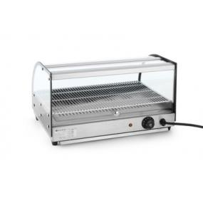 Vitrina calda , cu un nivel, incalzire infrarosu, termostat reglabil pana la 85 gr C, 554x376x(H)311 mm