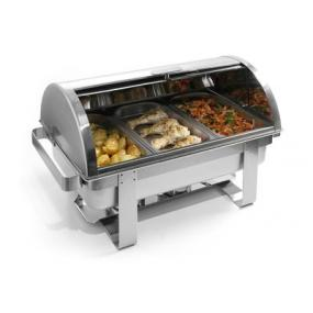 Chafing dish Rolltop Gastronorm 1/1, otel inoxidabil - Model Rental-Top