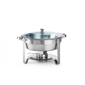 Chafing dish , otel inoxidabil - rotund 390x(H)270 mm, 3.5 lt