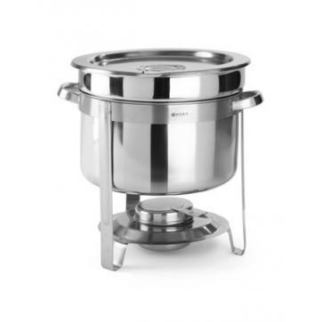 Chafing dish pentru supa, otel inoxidabil - Model Economic - 8 lt