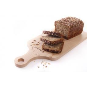 Tocator pentru paine, lemn de fag, 390x160x(H)12 mm