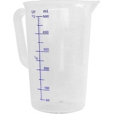 Cana gradata din polipropilena 140x(H)215 mm 2 Lit