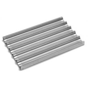 Tava Hendi pentru baghete, perforata, aluminiu, 600x400 mm