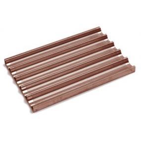 Tava Hendi pentru baghete non-stick, aluminiu, strat silicon, 600x400 mm