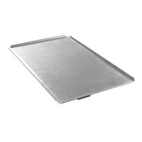 Tava Hendi perforata GN 1/1 - cu 4 margini, aluminiu