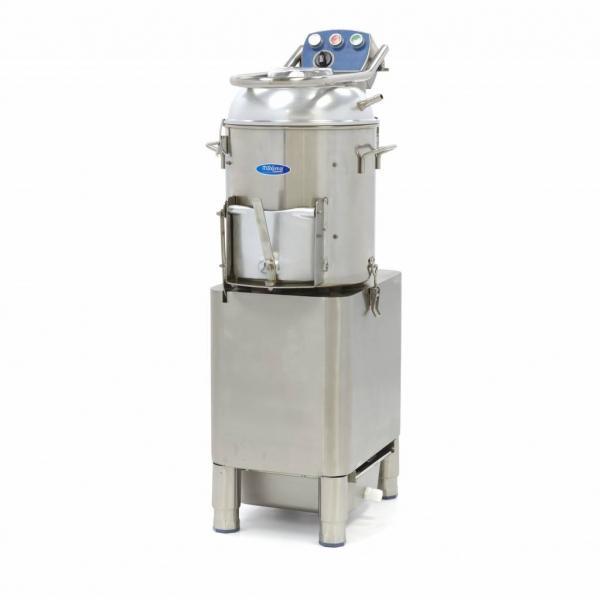 Masina de curatat cartofi si legume tari 15 Kg/sarja, 300 kg/h