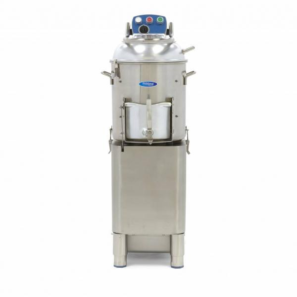 Masina de curatat cartofi si legume tari 20 kg/sarja, 400kg/h