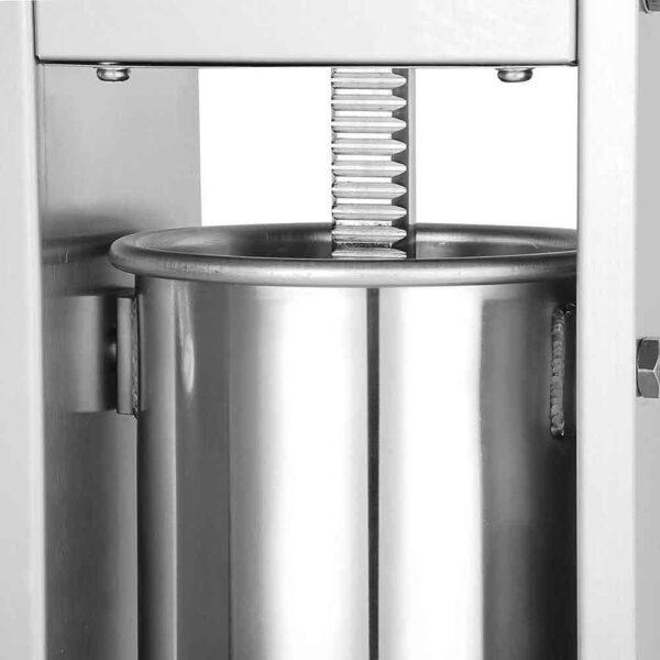 Aparat vertical de umplut carnati Maxima 10l