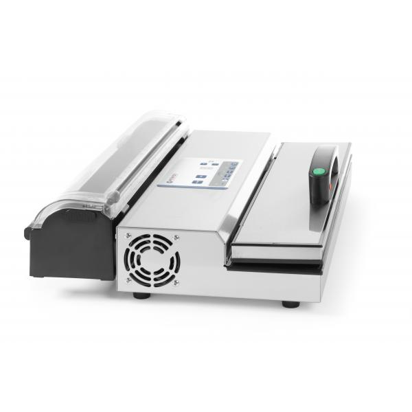 Aparat de vidat profesional Kitchen Line, 650W, pompa dubla de capacitate mare 16lt/min, inox, 490x260x(H)145 mm