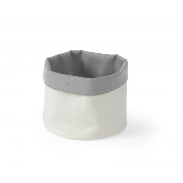Cos pentru paine, rotund, bumbac - 150x(H)150 mm - bej
