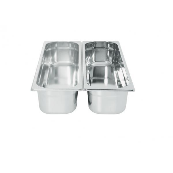 Tava Gastronorm GN 2/4 40 mm 2.5 lt - gama Profi Line, otel inoxidabil