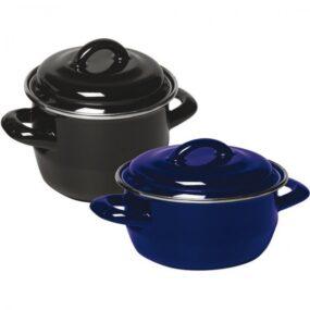 Oala pentru supa & sos - cu capac 120x(H)90 mm 0.8 lt