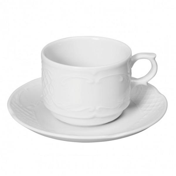 Ceasca pentru cappuccino 250 ml, portelan, gama FLORA