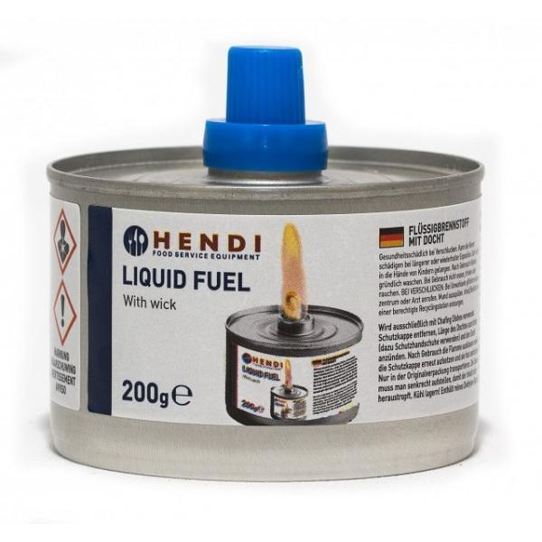 Combustibil lichid cu fitil - 6 in tava - 200 gr