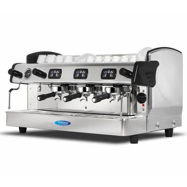 Espressor profesional cafea cu 3 grupuri ELEGANCE Grande
