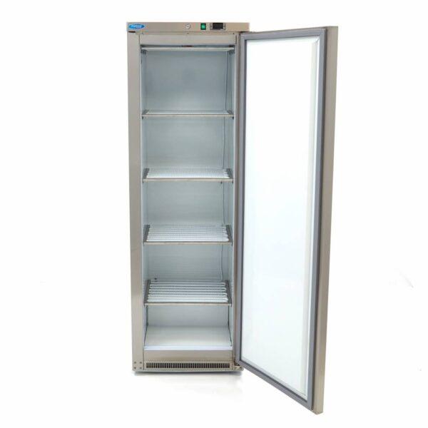 Congelator inox vertical profesional 400L, inox
