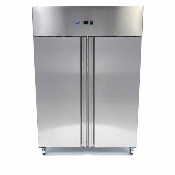 Congelator vertical inox dublu FR 1200L GN