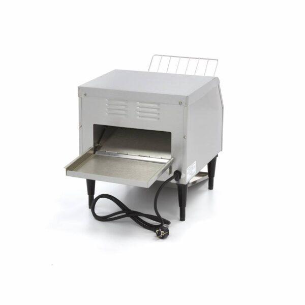 Toaster profesional tunel inox 300 felii/h