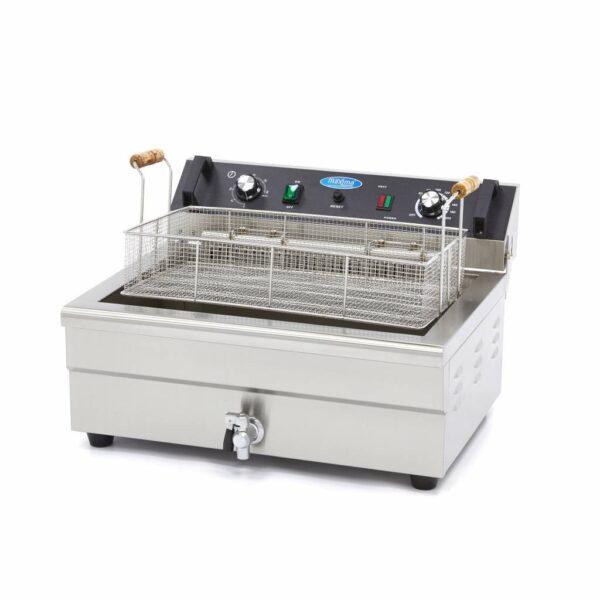 Friteuza electrică Maxima 1 x 20,0L, cu taxa scurgere