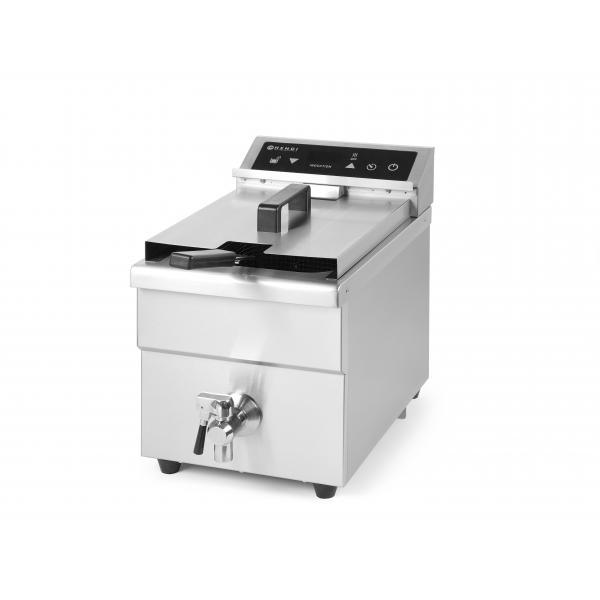 Friteuza cu inductie 8 lt, corp inox, 3500W, functie boost pentru incalzire rapida, 290x485x(H)406mm