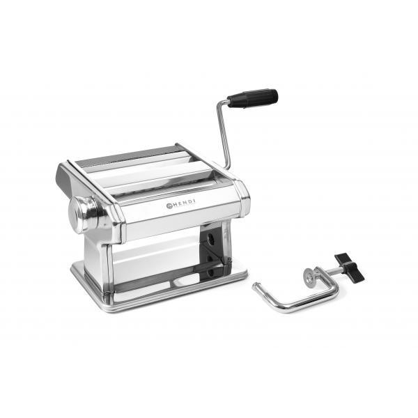 Masina profesionala preparat paste, inox, Hendi, grosime reglabila paste 0.2-2.5 mm, dimensiuni 440x382x(H)340 mm