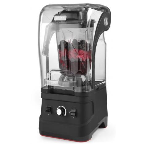 Blender profesional, capac protectie fonica, digital, cana policarbonat 2.5 lt, Hendi, viteza max 24800 rpm, 252x258x(H)547 mm