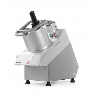 Robot profesional pentru taiere legume - fructe, 750 W, 300 rpm, 5 discuri taiere incluse, Hendi, 50x25x(H)47 cm