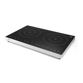 Plita dubla cu inductie profesionala, 3500W,control digital, termostat 60-250 gr C, timer 0-180 min,608x370x(H)61 mm