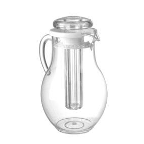 Carafa apa / suc cu capac, 2,2 litri, cu element racire, din plastic rezistent la zgarieturi, 15x(H)26 cm, Hendi
