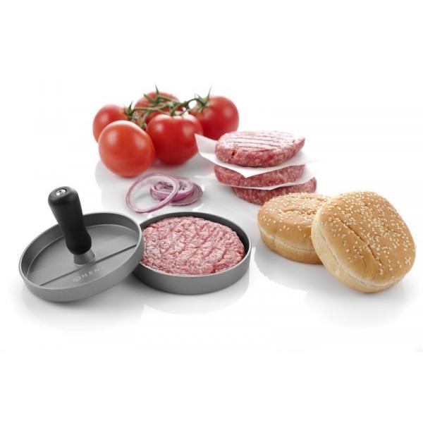 Presa hamburger, diametru 120 mm, din aluminiu cu strat anti-aderent, Hendi