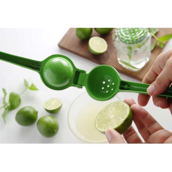 Storcator manual pentru limes, Hendi, verde, aluminiu, 203x60x40 mm