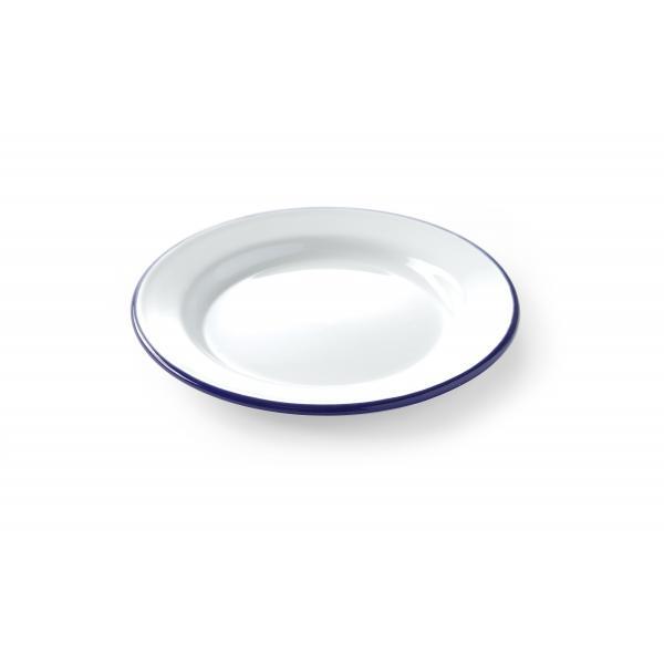 Farfurie intinsa emailata alba- diametru 20 cm - Hendi