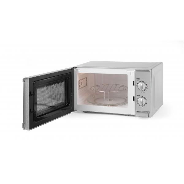 Cuptor microunde profesional cu grill, 20 lt, digital, corp inox, putere iesire 700W/ grill 1000W,