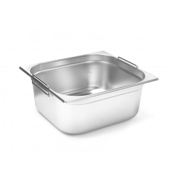 Tava Hendi Gastronorm cu manere GN 1/2 100 mm, 6.5 litri