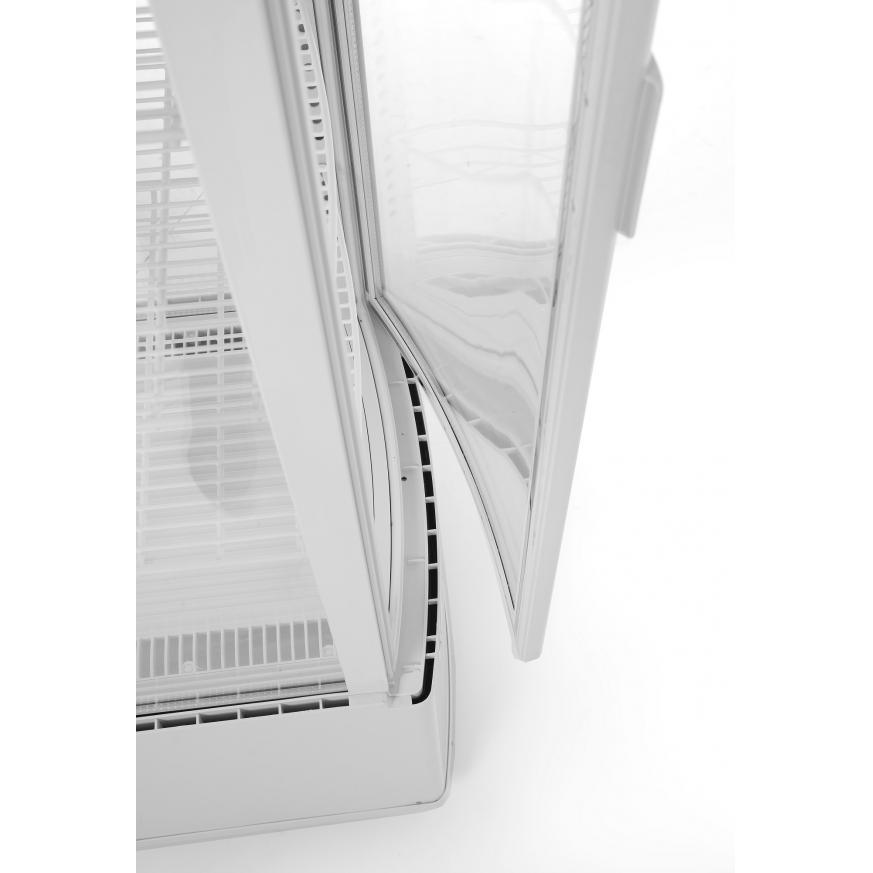 Vitrina frigorifica de prezentare interval temp. 2˚/6˚C, 290 W 100 l corp inox, ARKTIC by 556x526x(H)1913 mm