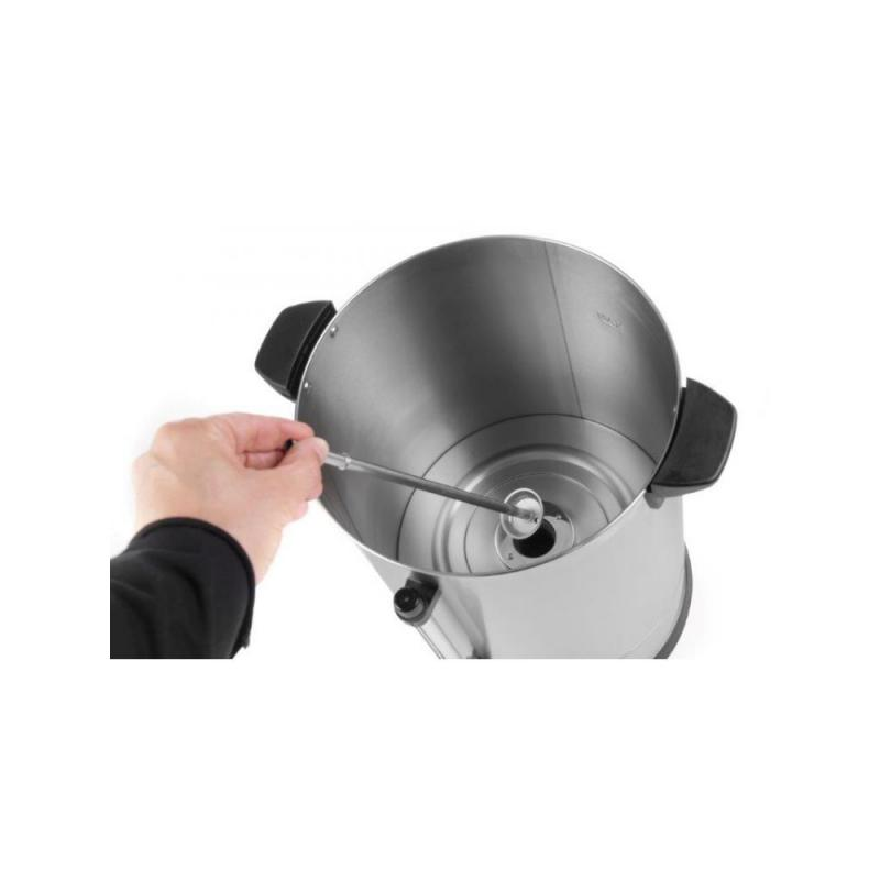 Percolator / cafetiera profesionala, 5 l, inox, Revolution, 30x30x(H)38.8, 950 W, termostat