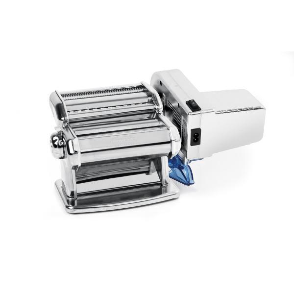 Masina electrica profesionala de facut paste, 80W, Kitchen Line, buton reglare grosime paste 0.2-2.2 mm