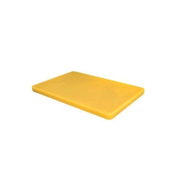 Tocator universal galben, 530x325x(H) 10 mm, polietilena HDPE, potrivit si la uz profesional